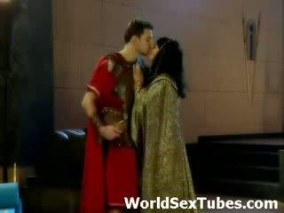 Cleopatra královna na egyptský porno