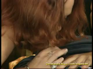 German red head pickup for porn movie