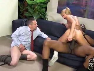 cuckold, big cock, interracial