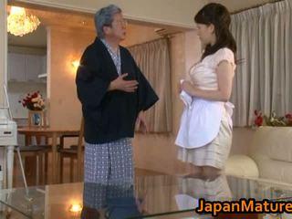 Érett japán nő fasz tube