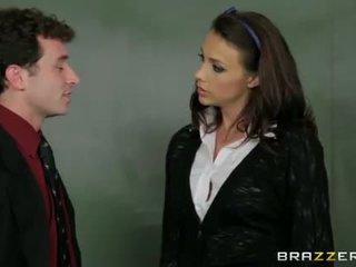 õpilane, blowjob kontrollima, reaalne õpetaja hq