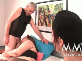 Mmv film tedesco sgualdrina helping fuori un grasso matura moglie a orgas