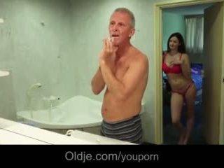 युवा, बड़े स्तन, pussyfucking
