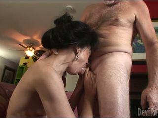 brunette, hardcore sex, pussy drilling
