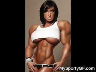 Hot Muscle Girlfriends!