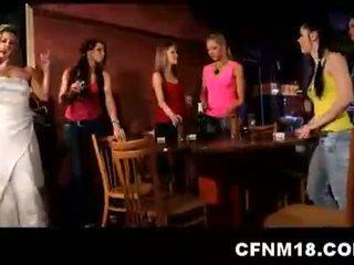 Hot Cfnm Teen Bride Orgy With Cu.