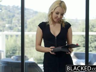 Blacked gražu blondinė hotwife aaliyah pažinčių ir jos juodas lover