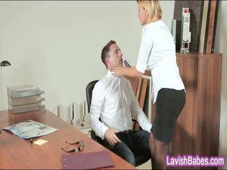 Γραφείο μωρό anna polina banged πραγματικός καλός