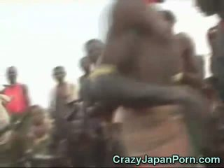 Japanese Sex in Africa!