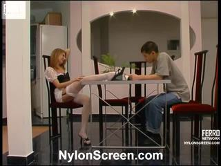 Alice And Nathan Sensuous Pantyhose Film Activity