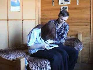 Mladý ruské pár
