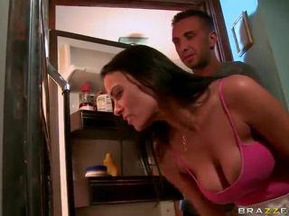 Dirty Kitchen Xxx Round The Big Titted Black Haired Vanilla Deville