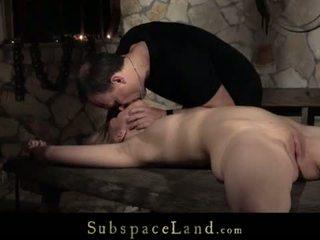 Teenie sub slave screaming discipline rough fuck at the dark tower <span class=duration>- 8 min</span>