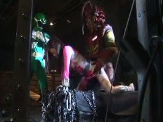 Japanilainen vaaleanpunainen teho ranger sisään trouble