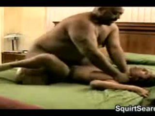 Tied Down Slut Being Fucked By A Fat Guy