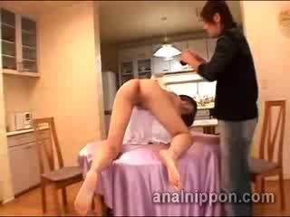 Tied 日本语 性别 奴隶 上 她的 所有 fours takes 肛交 训练