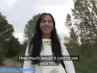 Publicagent hd ekte utendørs sex med sæd løpet pupper til ferdig