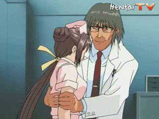 медсестра, аніме порно