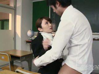 Beauty läraren körd hård av students