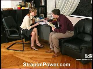strap-on, kvinnelige dominans, femdom