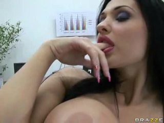 Aletta Ocean Gets Banged At Work