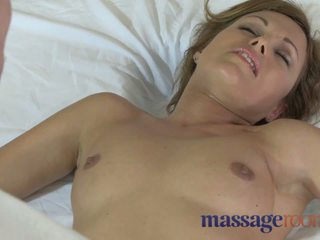Massage Rooms Horny MILFS get oiled up and fucked hard by young studs