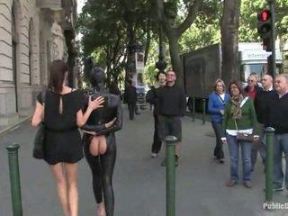 public sex, latex, bondage sex