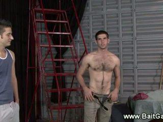 ישר guy הצגה שלו חם גוף