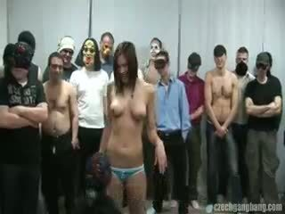 reality, group sex, cumshot