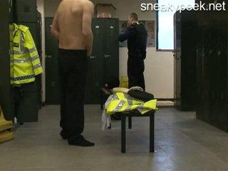 gerade, versteckt, lockerroom