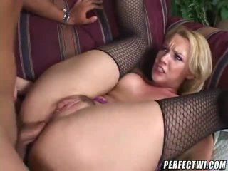 blondes, assfucking, anal sex, fishnets, buttfuck, anal