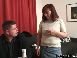 Babičky loses v proužek pokerový