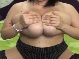 stora bröst, webbkameror, onani