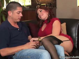big tits, moms and boys, cougars