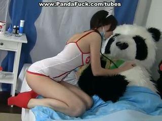 डर्टी सेक्स को इलाज एक बीमार panda