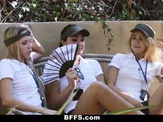 Bffs - vasara camp counselors įrašas lesbietiškas orgija
