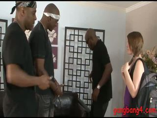 quality asses, gang bang vid, interracial sex