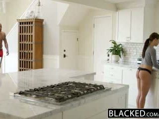 BLACKED Girlfriend Adriana Chechick Cheats With a Huge Black Cock