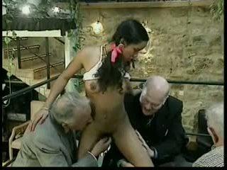 групов секс, old + young, междурасовите