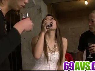 Kazumi nanase sicuro loves dealing two cocks: gratis porno 49
