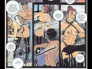 komiks, bdsm art