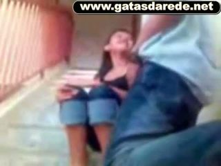 Comeu 一 novinha na escada