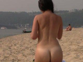 beach, public, nudist