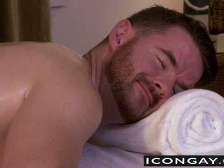 Brendan having giới tính trên các massage bàn