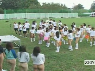 Subtitled bottomless õues jaapan schoolgirls assembly