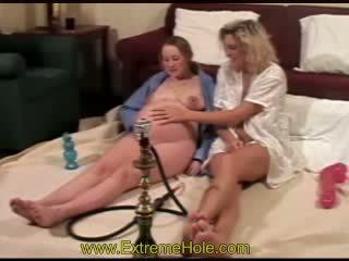 însărcinată, lesbiană, fisting