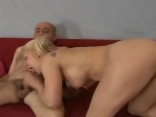 Caroline de jaie 和 oldman, 自由 成熟 色情 5e