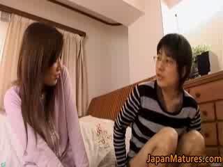 Japoniškas suaugę moteris has miela