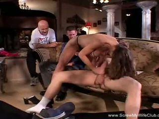 Long Intense Anal Threesome For Swinger MILF