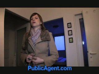 Public agent fucks enceinte marketa